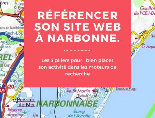 Les 3 piliers pour référencer son site Web à Narbonne